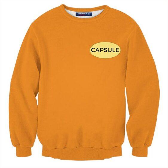 DBZ Yamcha In Dragon Ball King Piccolo Arc Orange Sweatshirt