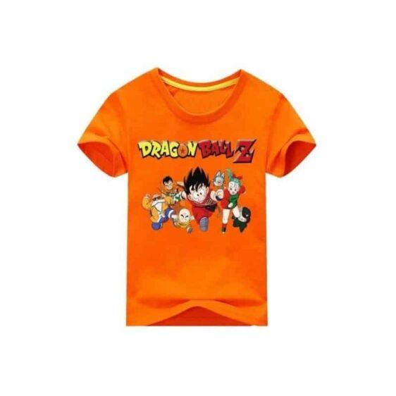 Dragon Ball Z Short Sleeve Kid Goku & Friends Baby T-Shirt