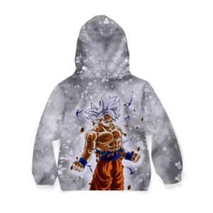 Dragon Ball Z Son Goku In His Ultra Instinct Form Kids Hoodie