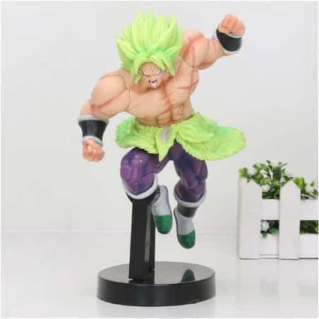 DB Super The Legendary Broly Smashing Position Action Figure