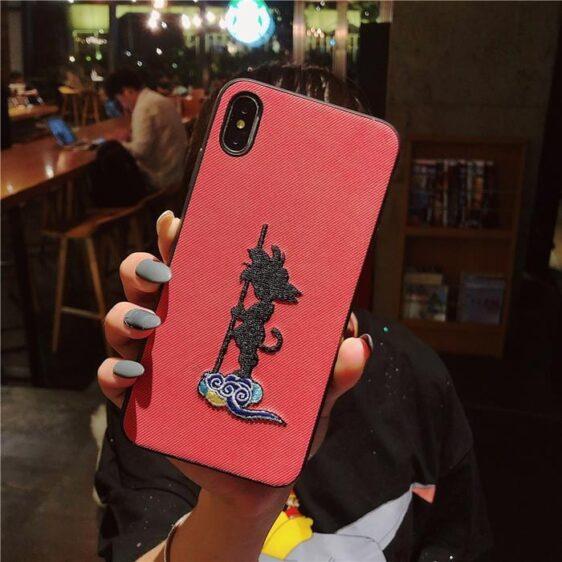 Dragon Ball Kid Goku Cloud Red iPhone 11 (Pro & Pro Max) Case