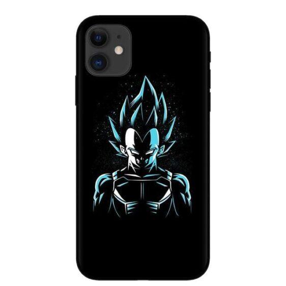 DBZ Vegeta Blue Silhoutte iPhone 11 (Pro & Pro Max) Case