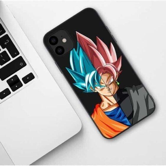 Goku Black & Goku Blue Face Off iPhone 11 (Pro & Pro Max) Case