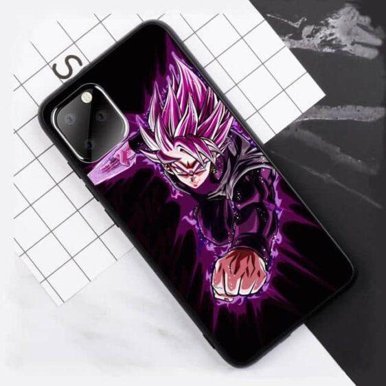 Goku Black Rose Energy Blade iPhone 11 (Pro & Pro Max) Case