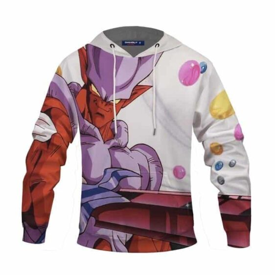 Dragon Ball Z Provoking Janemba Holding A Sword Awesome Hoodie