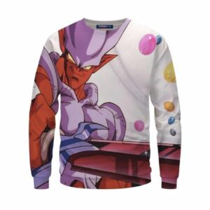Dragon Ball Z Provoking Janemba Holding A Sword Awesome Sweatshirt
