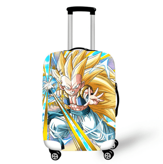 DBZ Gotenks Powerful Fusion Travel Suitcase Cover