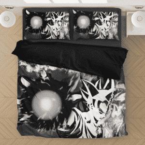 Dragon Ball Z Angry Son Goku Black & White Bedding Set