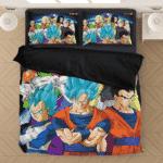 Dragon Ball Z Resurrection F Goku Team Vs Frieza Bedding Set