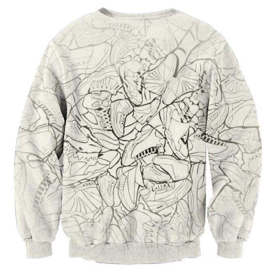 Dragon Ball Goku Jump Man Jordan Symbol Fashion Sweatshirt