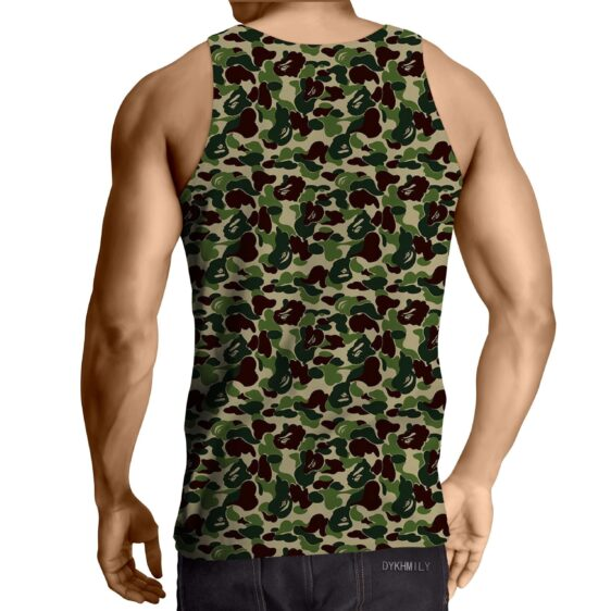 Gotenks Hip Hop Stylish Cameo Camouflage Cool Tank Top