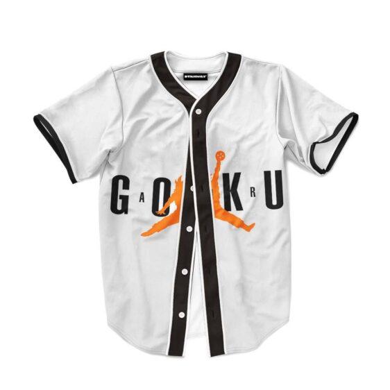 Goku Jordan Jump Man Dragon Ball Cool Baseball Jersey