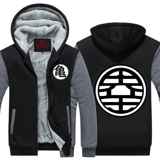 Dragon Ball Z King Kai & Master Roshi's Kanji Hooded Jacket