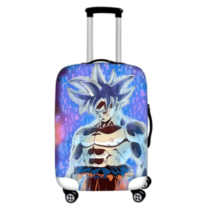 Fierce Looking Son Goku Ultra Instinct Suitcase Cover