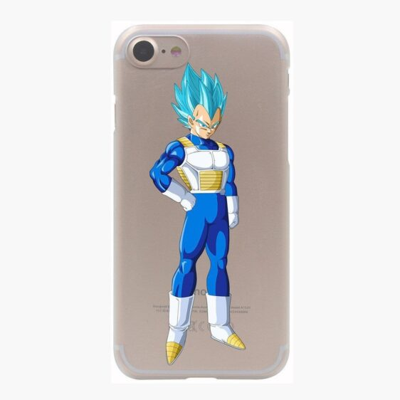 Dragon Ball Vegeta Saiyan God Blue SSGSS PC iPhone 4 5 6 7 8 Plus X Case