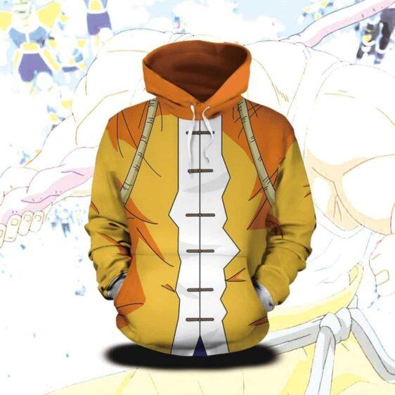 Dragon Ball Z Cool Master Roshi Turtle Uniform Cosplay Hoodie