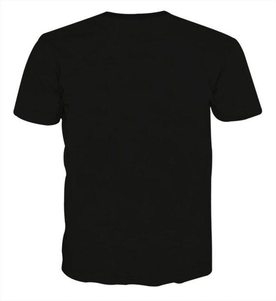 Just Do It Slogan Dragon Ball Kid Goku Dope Black T-shirt