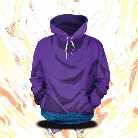 Dragon Ball Z Son Gohan Cool Training Outfit Cosplay Hoodie