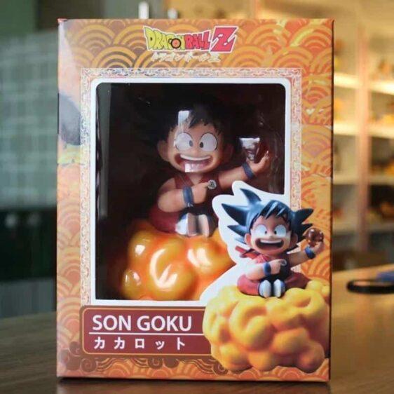 DBZ Happy Kid Goku Holding 1 Dragon Ball Action Figure
