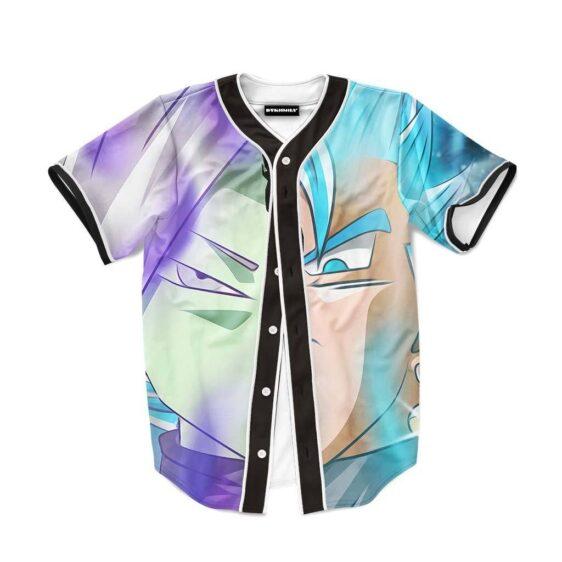 Vegeta SSGSS Zamasu Supreme Kai Cool Style Baseball Jersey