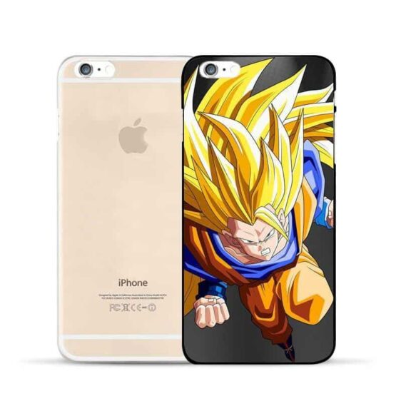 Dragon Ball Goku Super Saiyan SSJ3 Angry Attack Hard PC iPhone 5 6 7 s Plus Case