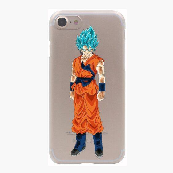 Dragon Ball Goku Saiyan God Blue SSGSS PC iPhone 4 5 6 7 8 Plus X Case