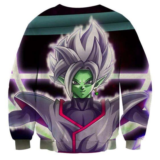 DBZ Goku Black Merged Zamasu Portrait Unique Print Sweatshirt