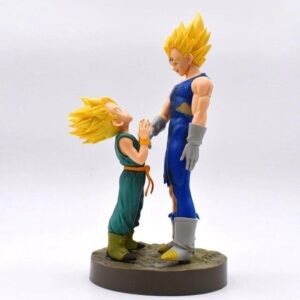 Dragon Ball Z Majin Vegeta & Kid Trunks SSJ1 Action Figure