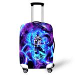 Gogeta & Shenron Bluish Purple Protective Luggage Cover
