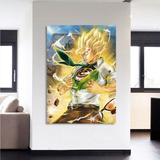 DBZ Gohan Capsule Corp Super Power Dope 1Pc Canvas Print