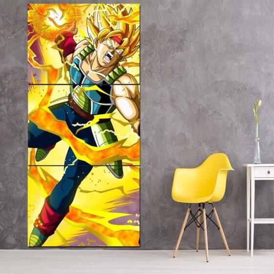 Dragon Ball Bardock Super Saiyan Ki Blast 3Pc Canvas Print