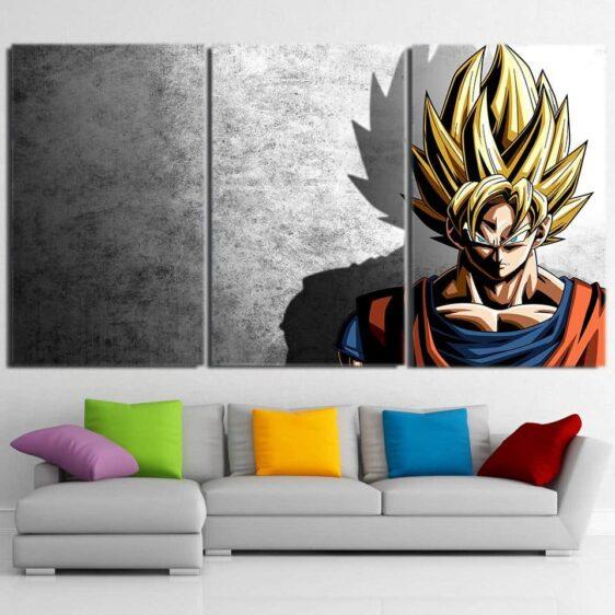 Dragon Ball Goku Super Saiyan Hero Japan Anime 3pc Canvas Prints