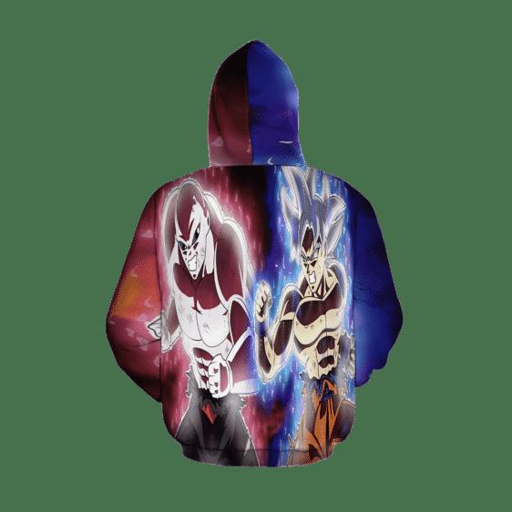 Dragon Ball Super Goku vs Jiren Fierce Battle Full Print Hoodie