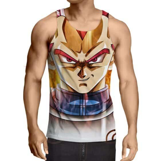 Dragon Ball Vegeta Super Saiyan Rose Portrait Cool Tank Top