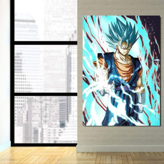 Dragon Ball Lighting Angry Vegito Ki Blast 1Pc Canvas