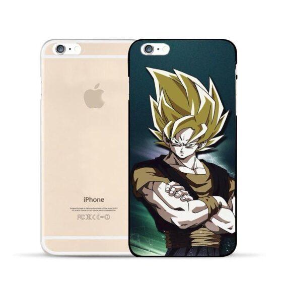 Dragon Ball Super Goku Fusion Super Saiyan Design Hard PC iPhone 5 6 7 s Plus Case