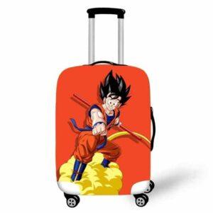 Son Goku's Power Pole Flying Nimbus Orange Luggage Cover