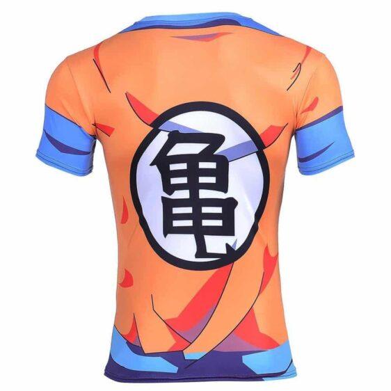 Master Roshi's Disciple Krillin Goku Kame Symbol 3D Gym T-Shirt