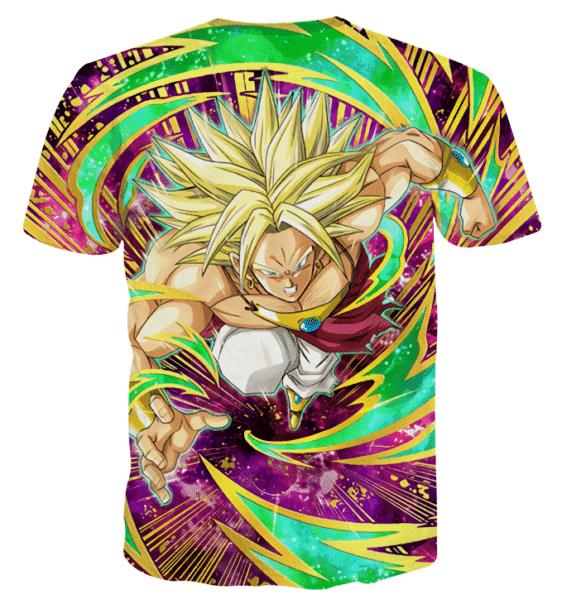 Dragon Ball Legendary Super Saiyan Broly Amazing T-shirt