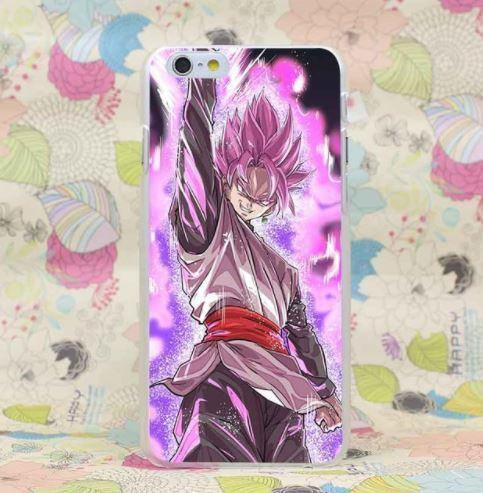 DBZ Goku Black Super Saiyan Rose Villain PC iPhone 4 5 6 7 8 Plus X Case
