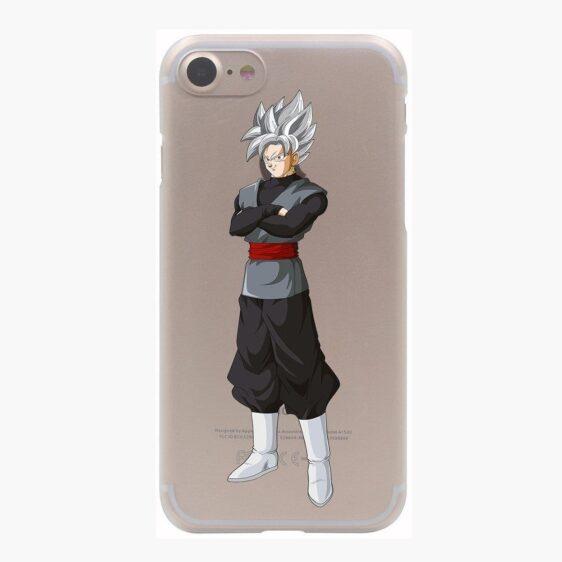 Dragon Ball Goku Black Zamasu SSJ1 Silver Hair PC iPhone 4 5 6 7 8 Plus X Case