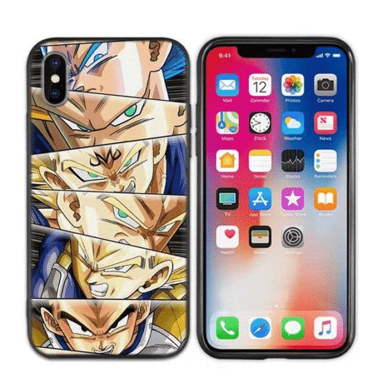 Vegeta Prince Of Saiyan Forms iPhone 11 (Pro & Pro Max) Case