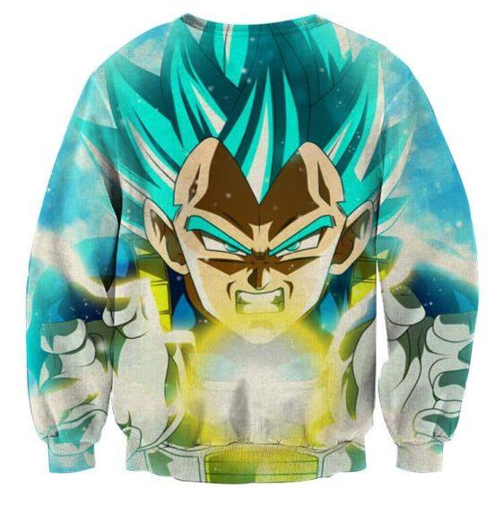 DBZ Vegeta Super Saiyan God Kamehameha Cool Style Sweatshirt