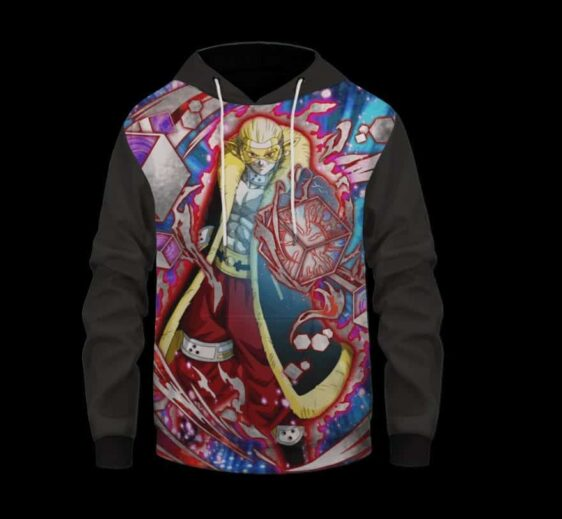 Super Dragon Ball Heroes Hearts Electrifying Character Hoodie