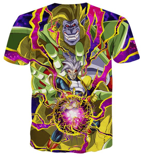 DBZ Dokkan Battle Super Baby Vegeta Golden Giant Ape T-shirt