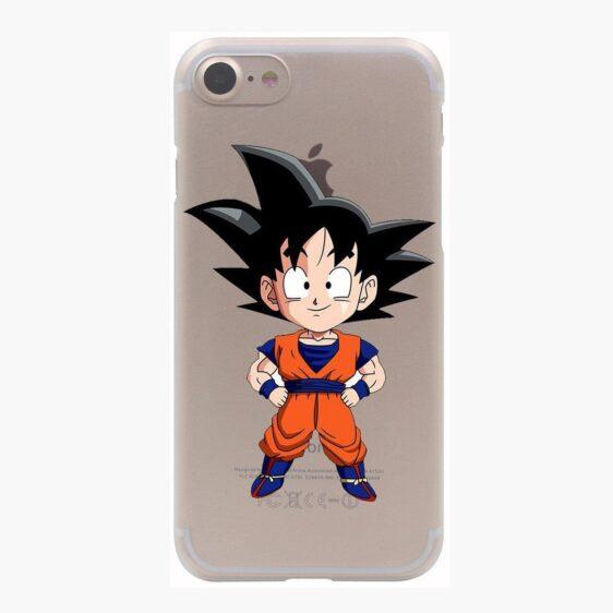 Dragon Ball Goku Super Saiyan Chibi Style PC iPhone 4 5 6 7 8 Plus X Case