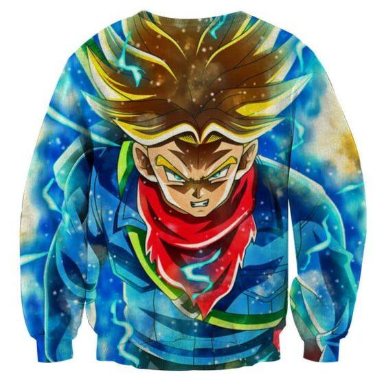DBZ Rage Super Saiyan Trunks Portrait Unique Style Sweatshirt