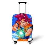 Son Goku Super Saiyan God Kamehameha Suitcase Cover