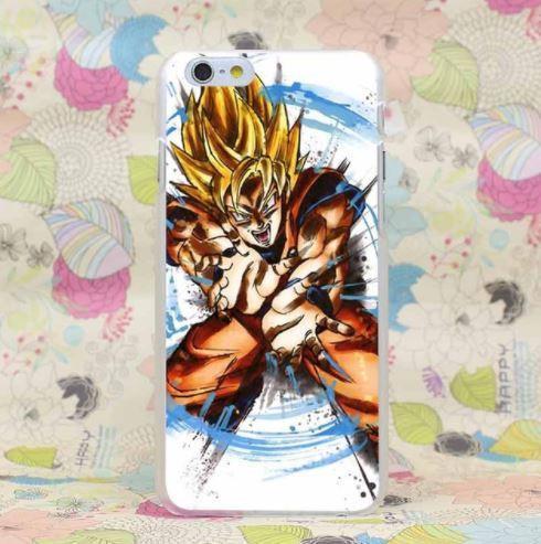 DBZ Goku Saiyan Warrior Kamehameha Brutal Skill PC iPhone 4 5 6 7 8 Plus X Case