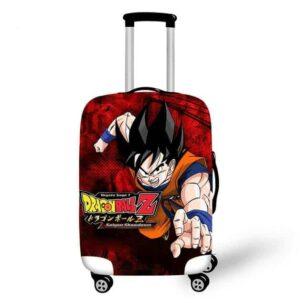 Dragon Ball Z Saiyan Showdown Protective Luggage Cover